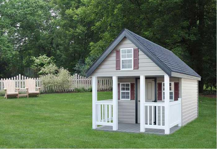 Custom Backyard Playhouses offered in Bucks County PA, Montgomery County PA, New Hope PA